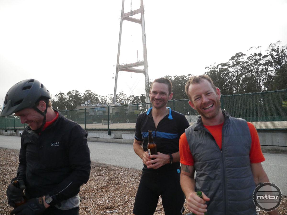 Mt. Sutro Tower. That's a wrap, boys!! Photo by James Adamson - dropmedia.tv