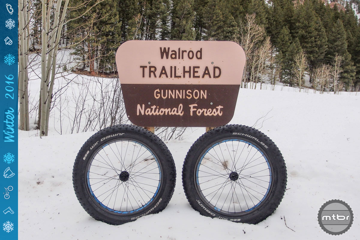 Our primary testing grounds were the snowy roads and trails in and around Crested Butte, Colorado, and the Gunnison National Forest.