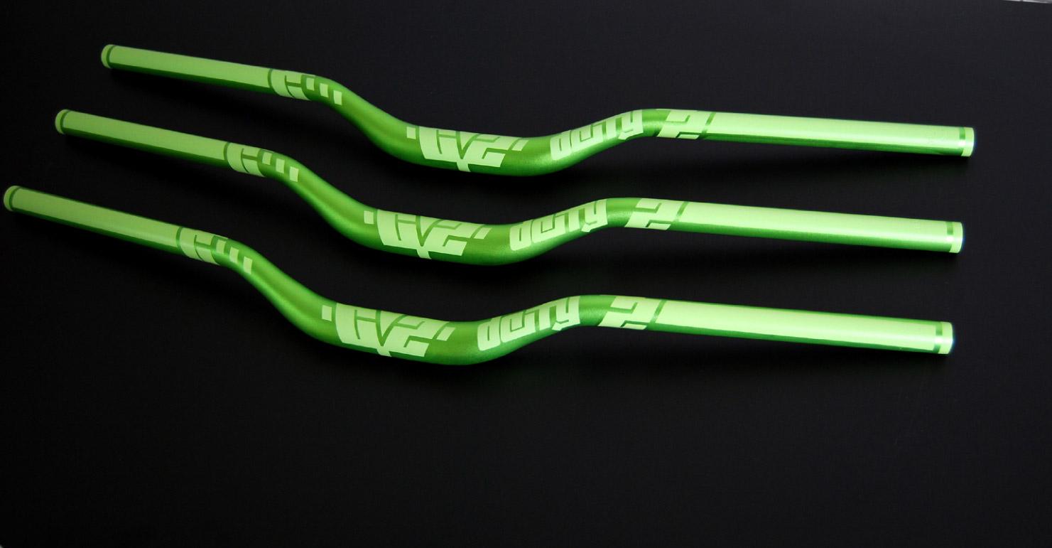 Deity CZ38 bars - green