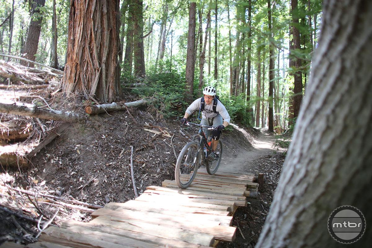 Demo Flow Trail Bridge