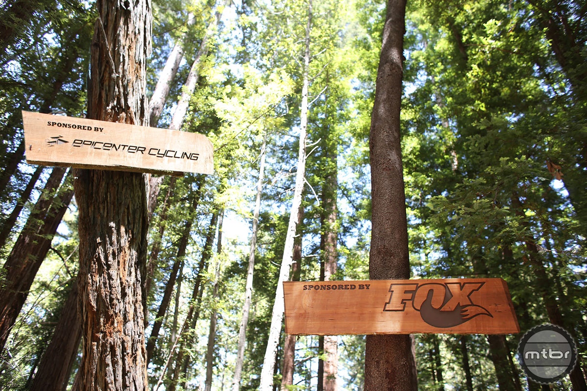 Demo Flow Trail Signs