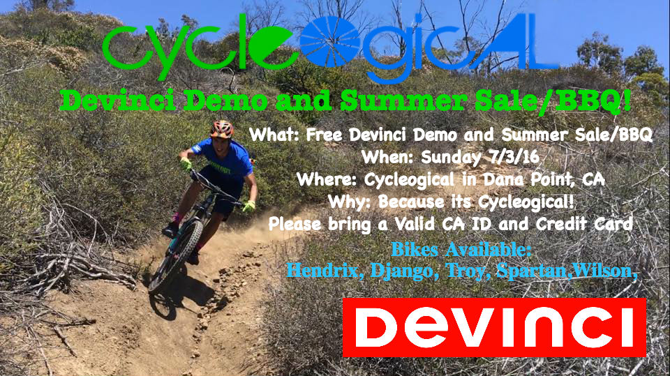Try out a Devinci for free! Sunday 7.3 at Cycleogical in Dana Point!-devinci-demo-flyer.jpg