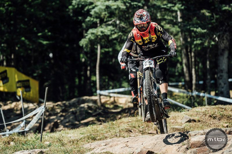 With Windham off the schedule this year, Mont St Anne is the only World Cup DH race that will be held in North America this year. Get ready for some crazy fans.