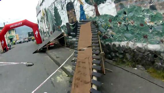 Manizales Urban DH - wallride