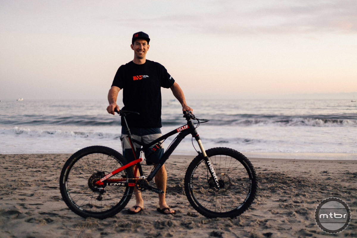 Eric Porter was one of the primary athletes that Diamondback worked with during the testing and development phase of their new Level Link equipped Release.