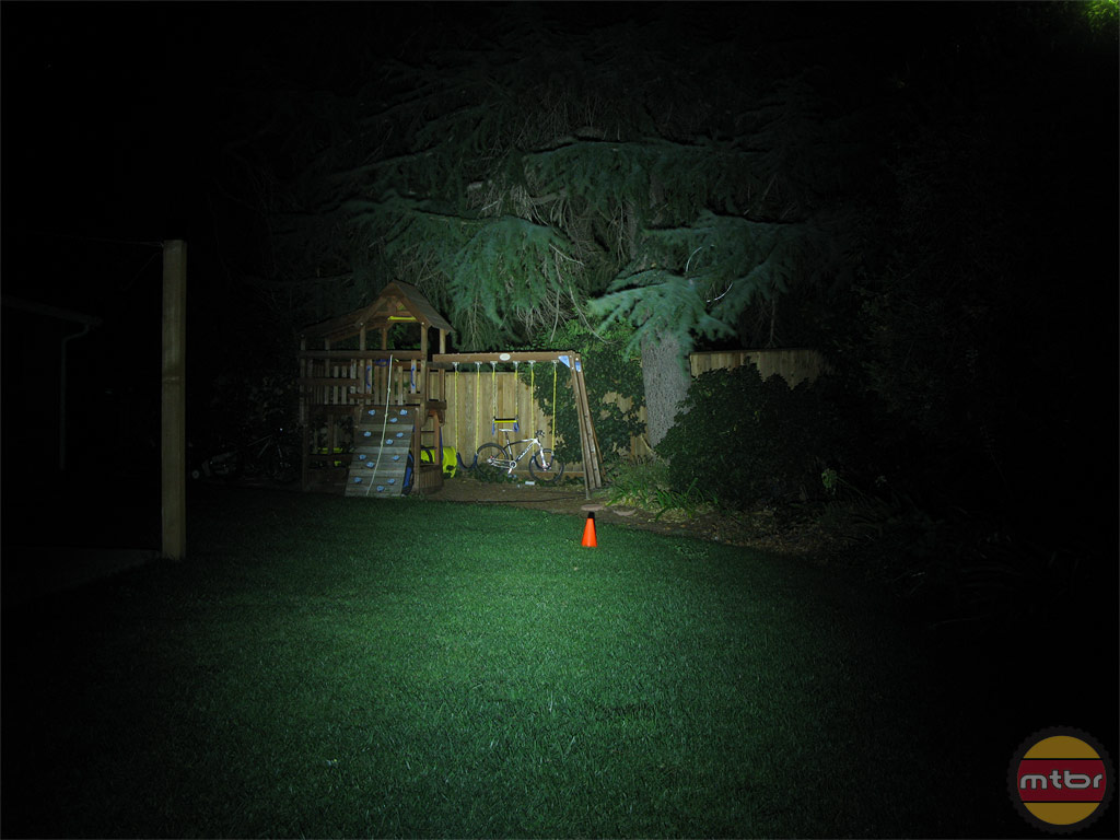 Dinotte XML-1 Backyard Beam Pattern