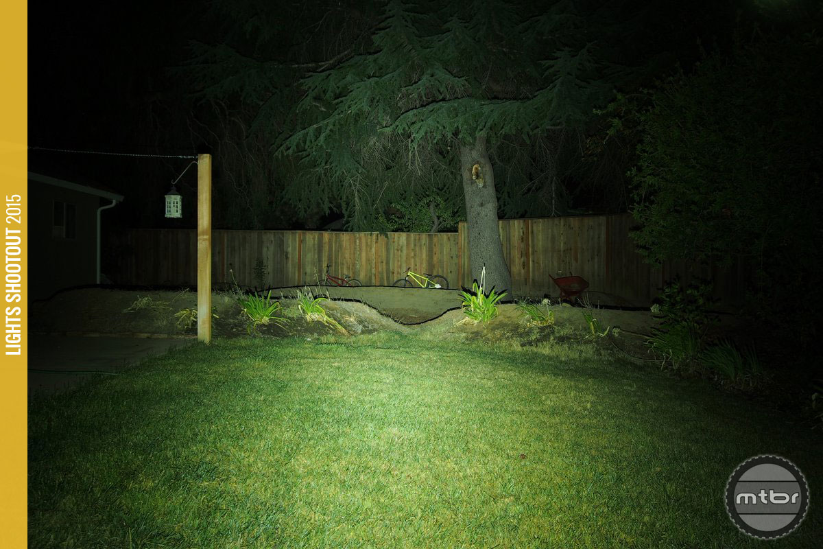 DiNotte XML-3 Backyard Beam Pattern