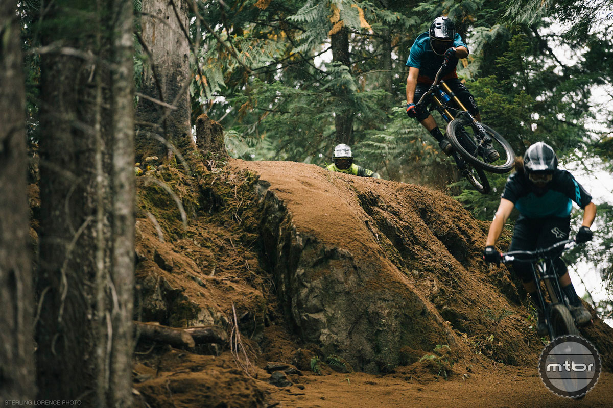 Riders play across a magical landscape. Photo by Sterling Lorence