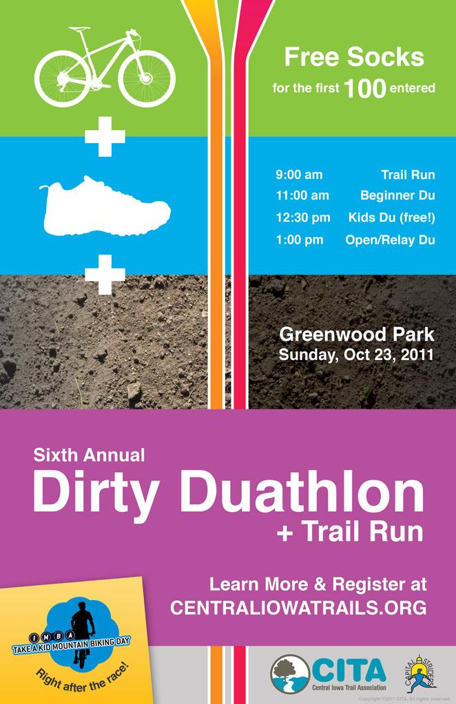 Des Moines, Iowa: Trail Run + Dirty Duathlon + Take a Kid MTBing-dirty-du-poster-1.jpg