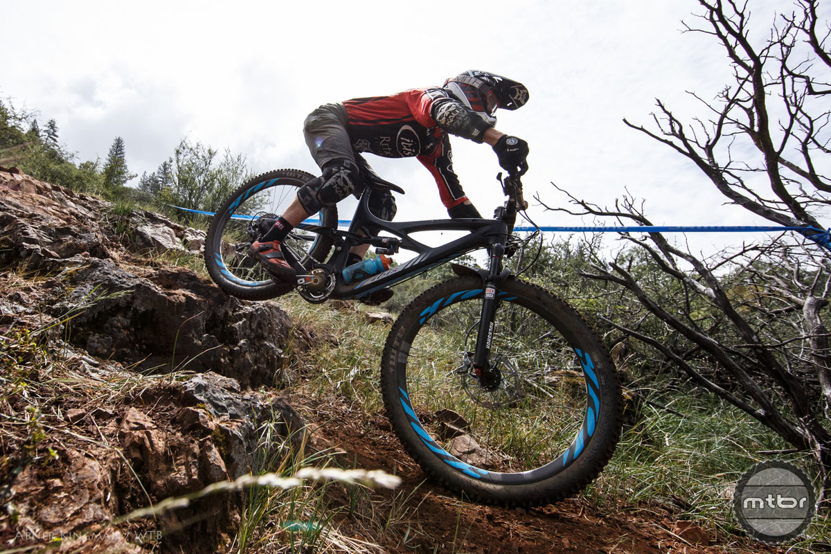 The Dirty Sanchez Enduro Race 2015, Grass Valley, California. Jeff Kendall-Weed takes 11th place. Photo by Abner Kingman