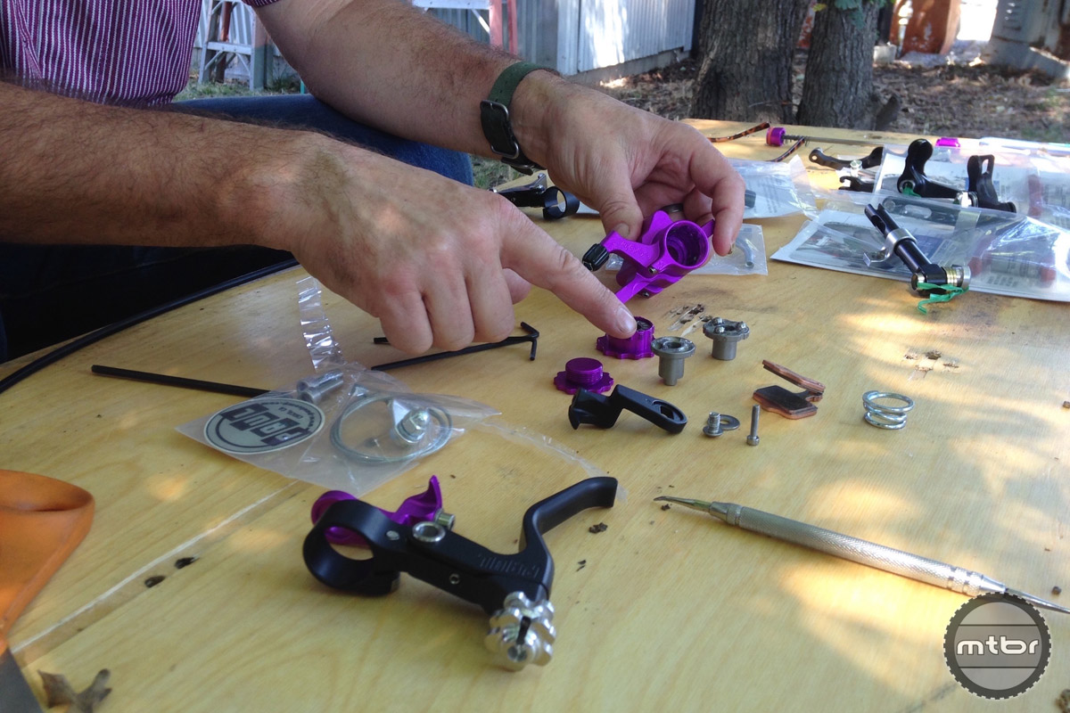 Paul demonstrates how the Klamper can be fully disassembled and serviced.