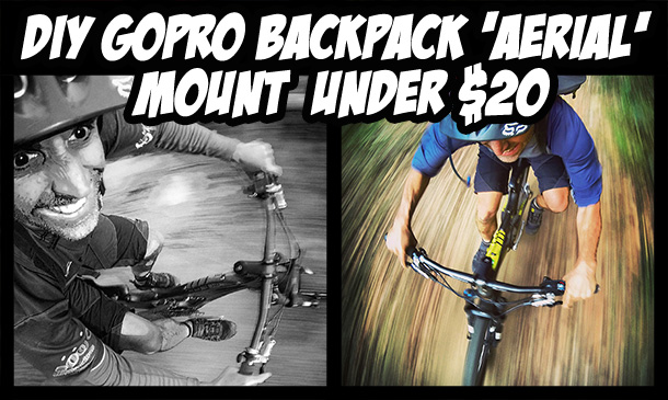 how to make a gopro backpack mount