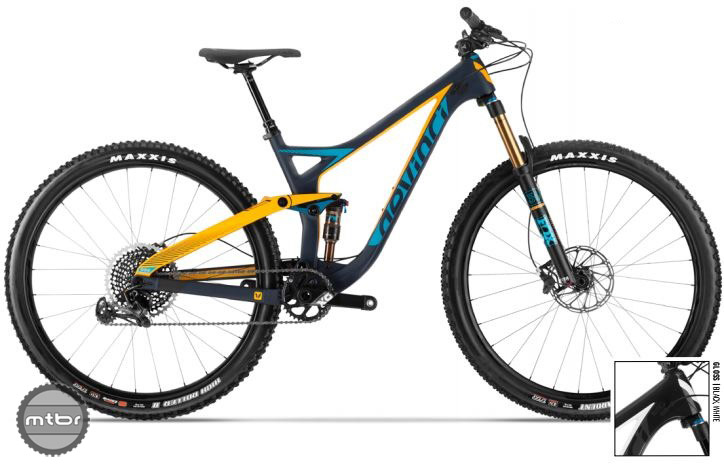 "The short travel Django was launched as a 27.5"" bike, but the platform was begging for the 29er treatment."