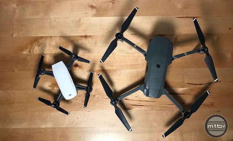 DJI Spark Drone versus DJI Mavic