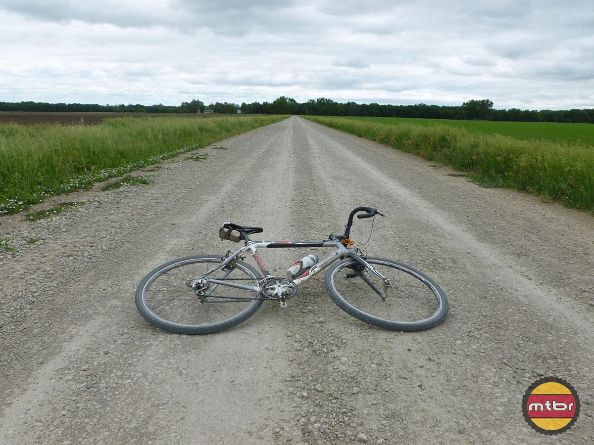 DK Bike in Road