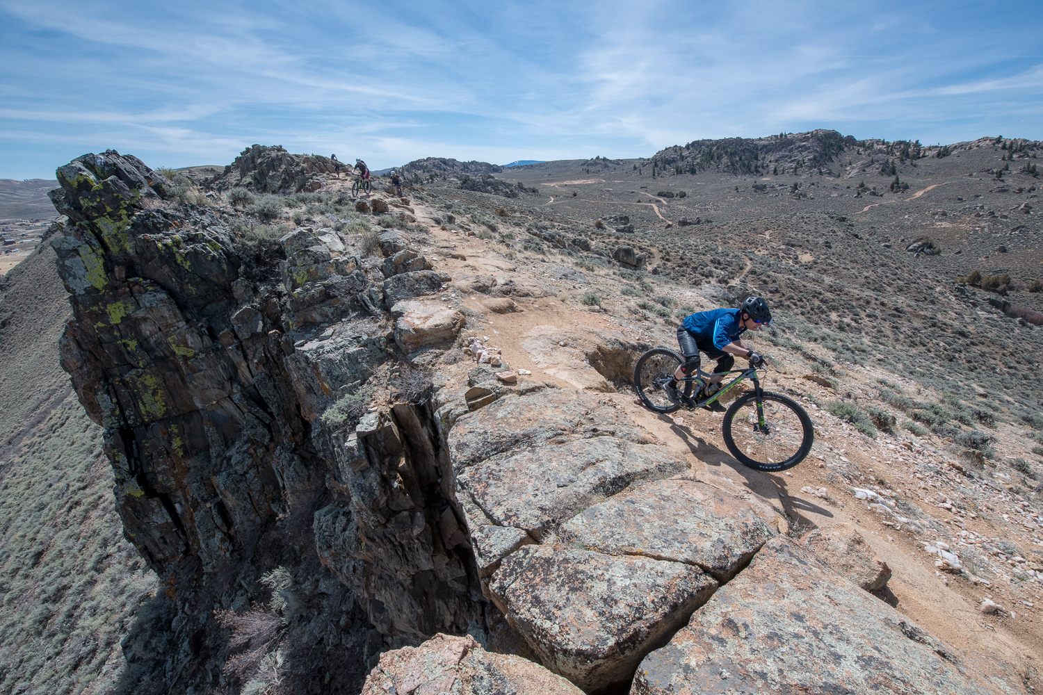 The numerous lines choices at Hartman Rocks make it a mountain biker's playground. Photo by Dave Kozlowski