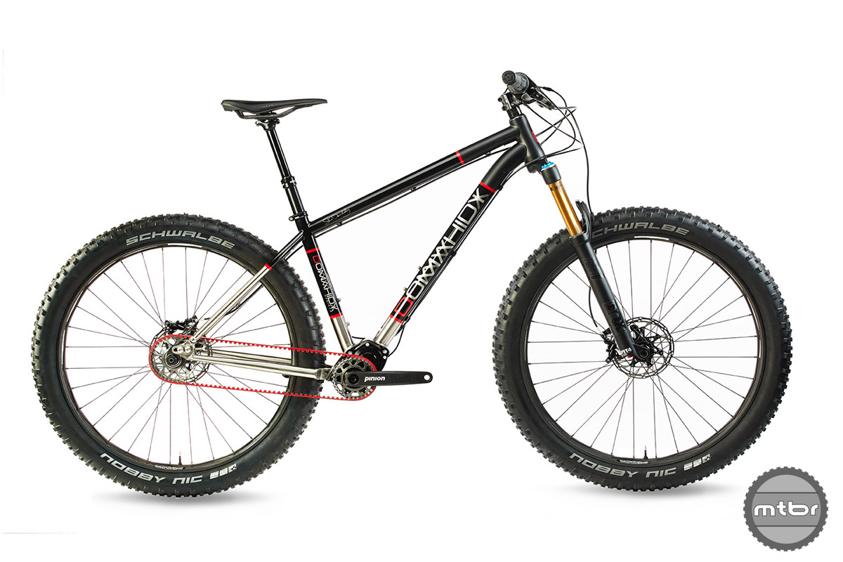 The latest from Steve Domahidy is a timeless hardtail with a bombproof drivetrain.