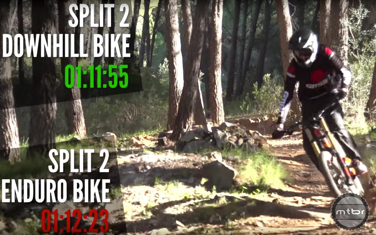 Downhill vs Enduro