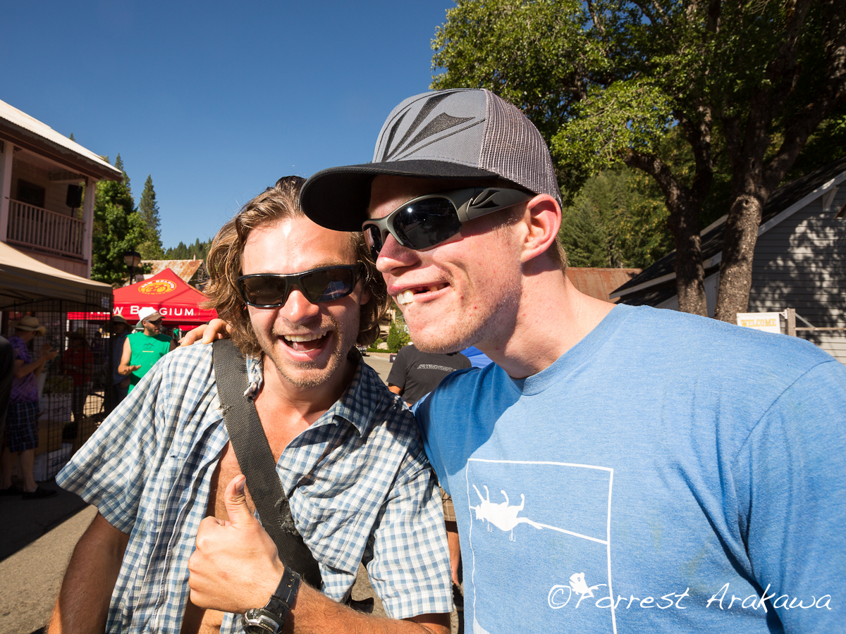 Downieville 2012 Aaron Bradford and Marshall Eames