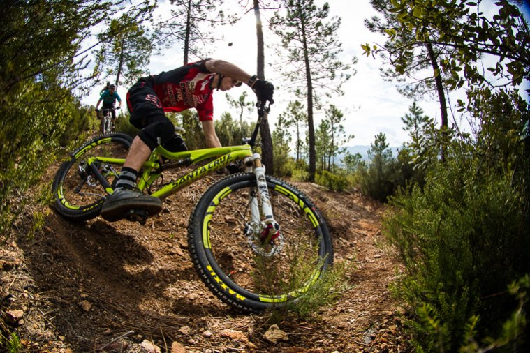 Santa Cruz Bronson in action