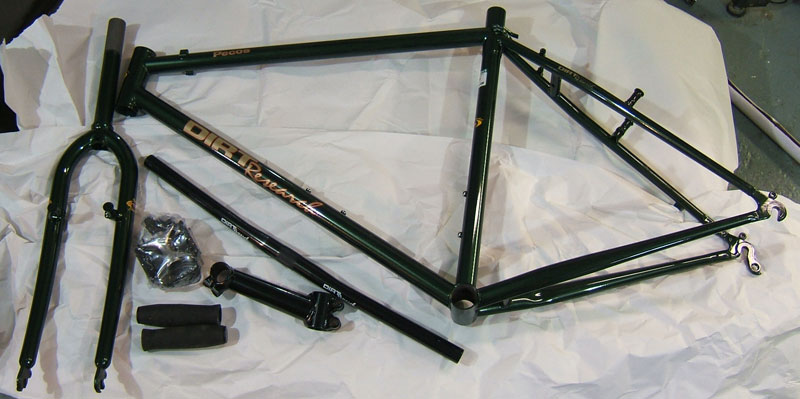 Those NOS Steel Dirt Research Frames on Ebay: Here\'s some more info ...