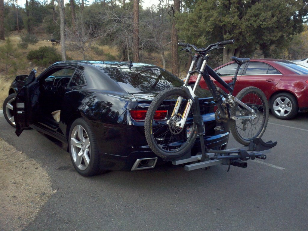 What Do You Get For MPG With Bike On Trailer Hitch? Droid 076s