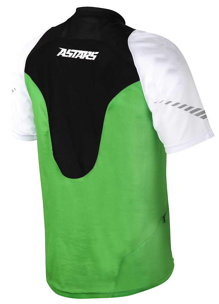 drop jersey green back