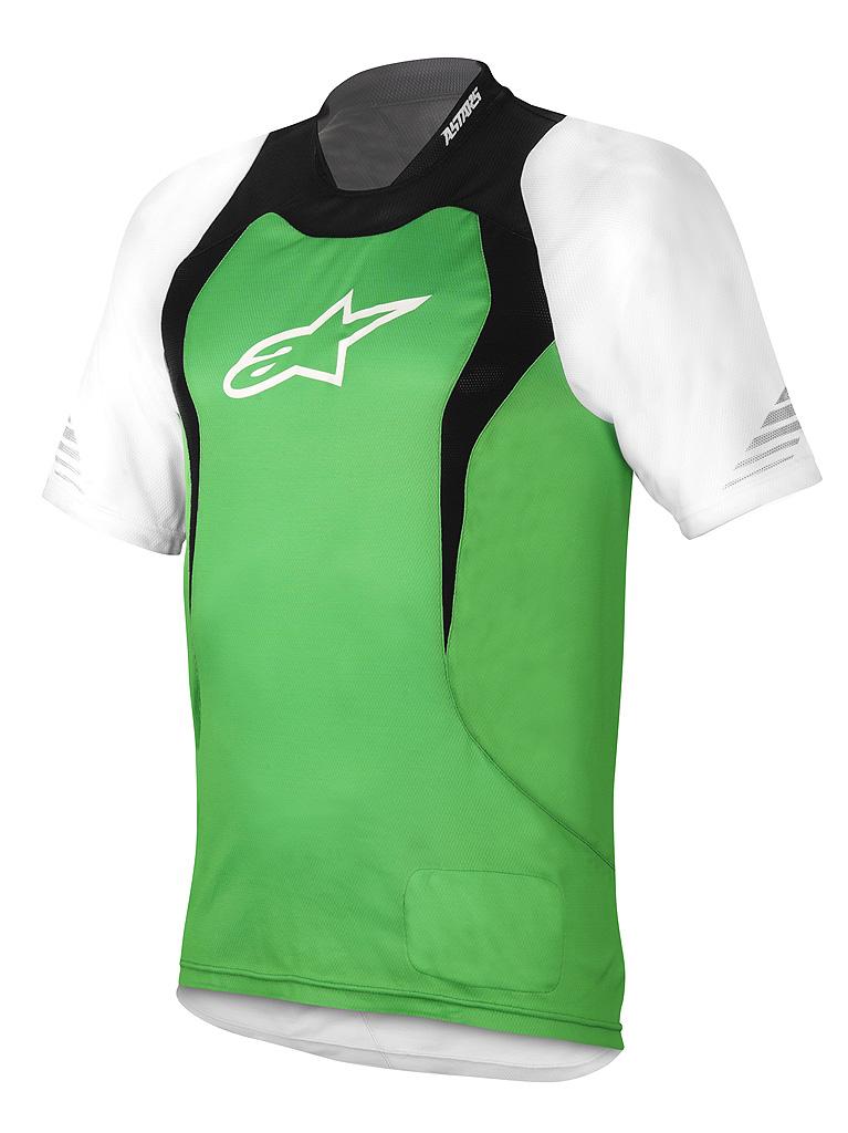 drop jersey green