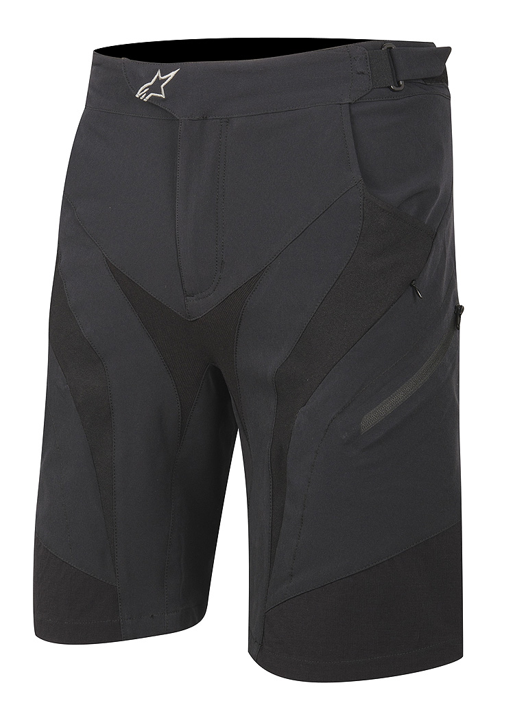 drop shorts BLACK
