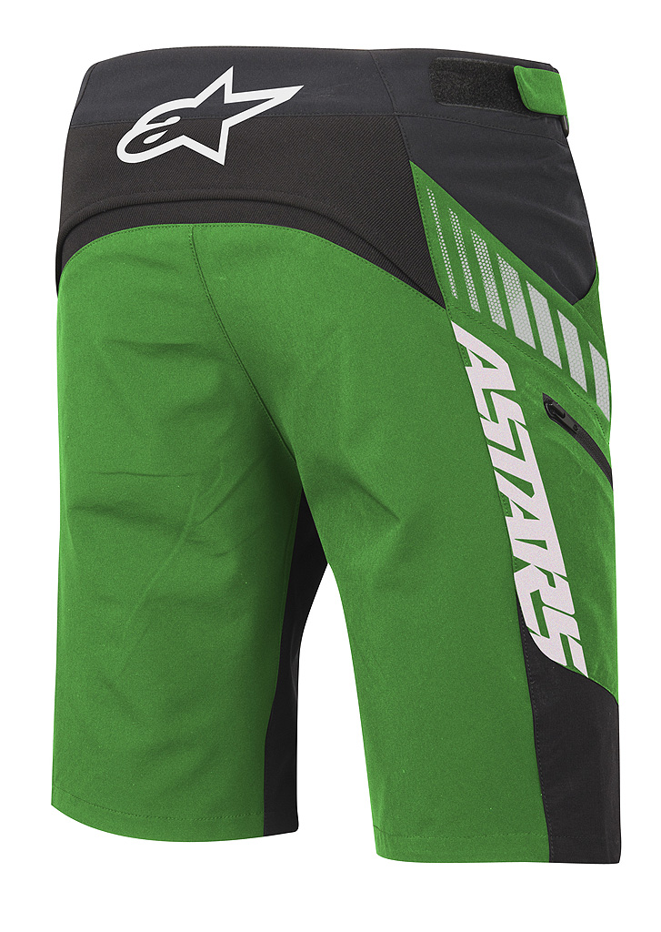 drop shorts green bk