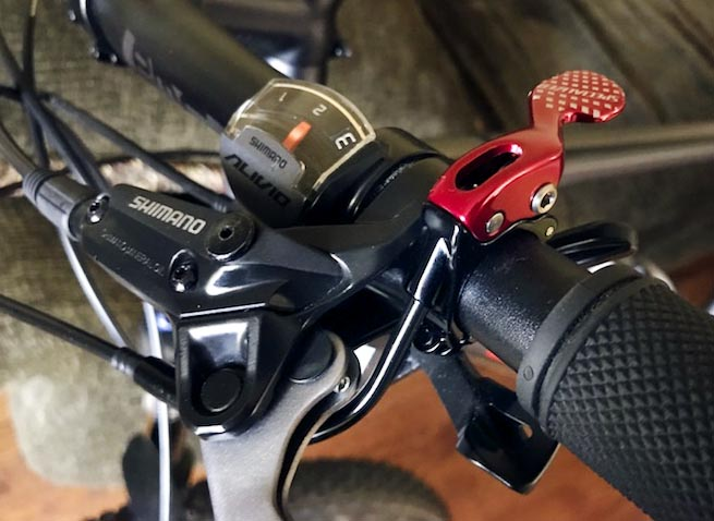 Seatpost Dropper Remote Lever Shifter Alloy Brake Levers For Mountain Bikes MTB