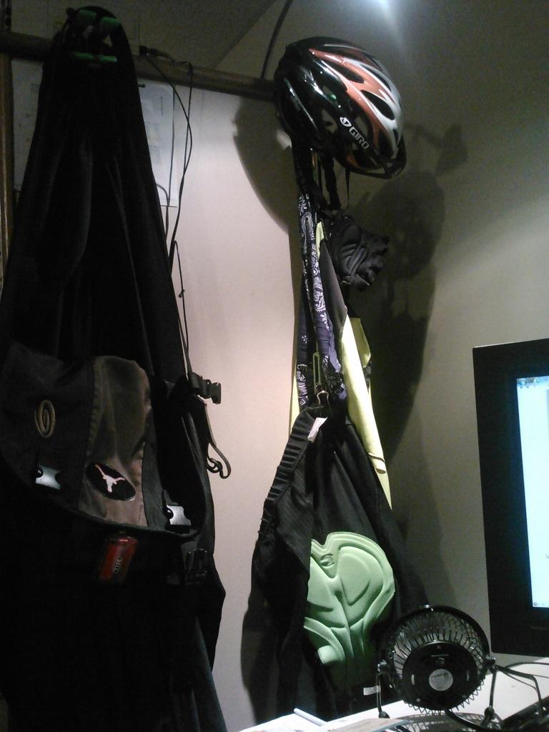 Fresh clothes for ride home-dry-setup.jpg