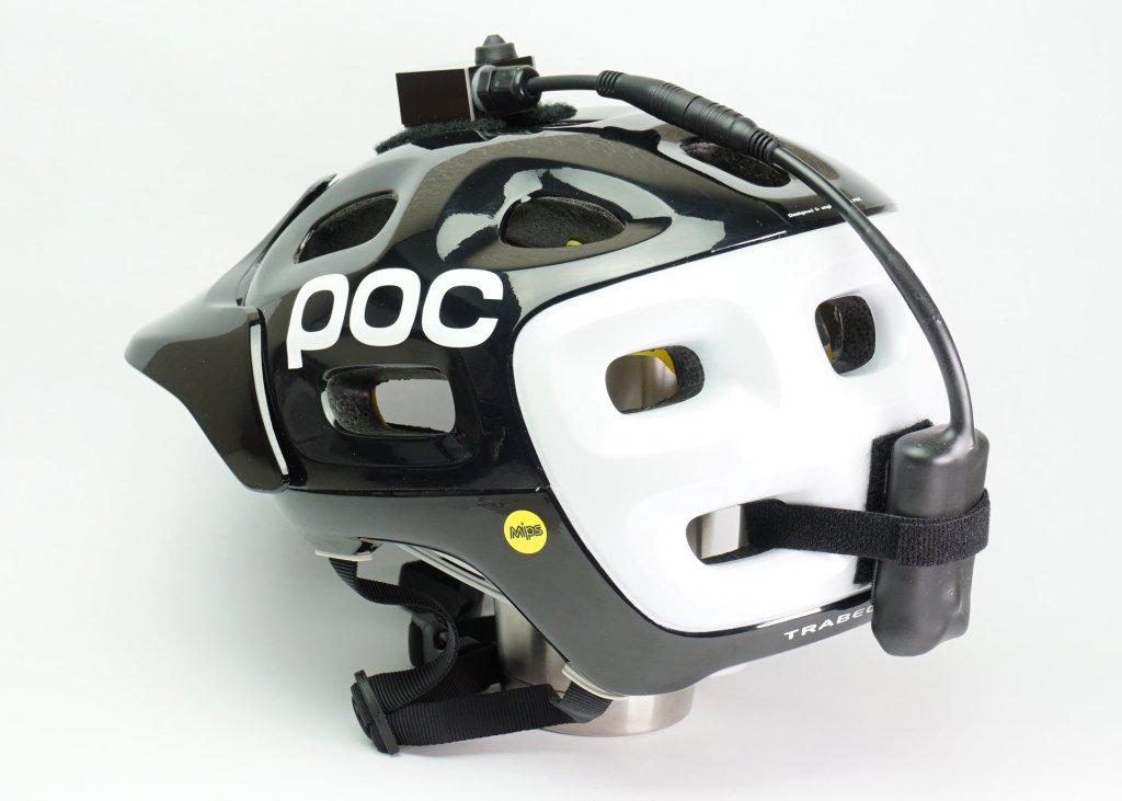 Amoeba Helmet Light On A Poc Helmet Mtbr Com