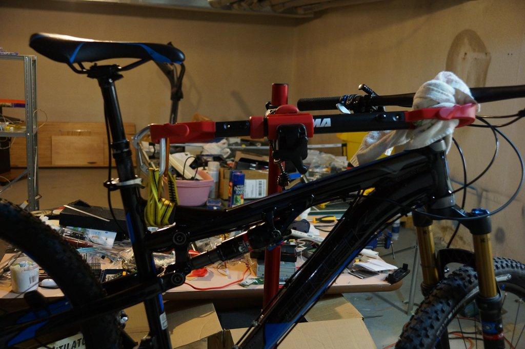 Merveilleux Top Bar Extender For Bike Rack Cause Scratching? Dsc00859