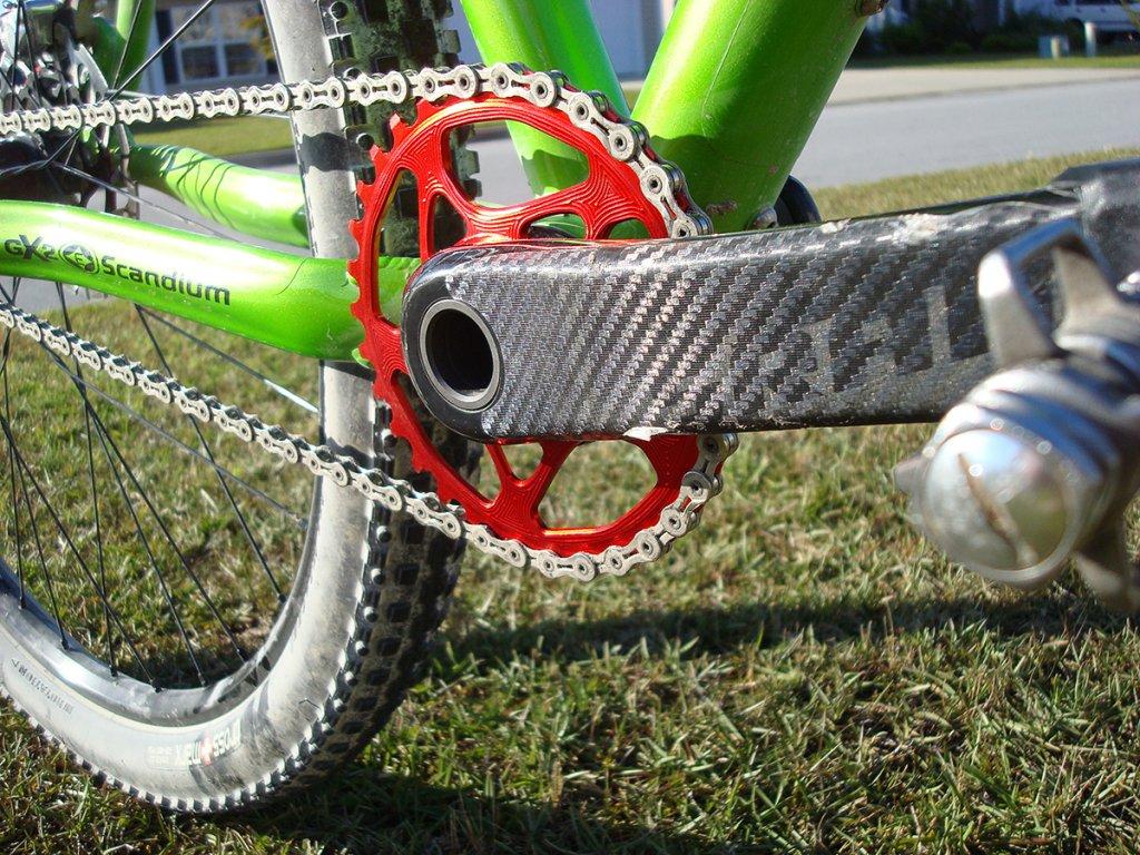 Absolute Black Spiderless Chainring Installed!!-dsc01296.jpg