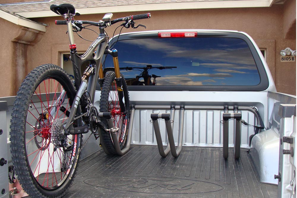 Hauling Mountain Bike in Truck Bed- Mtbr.com