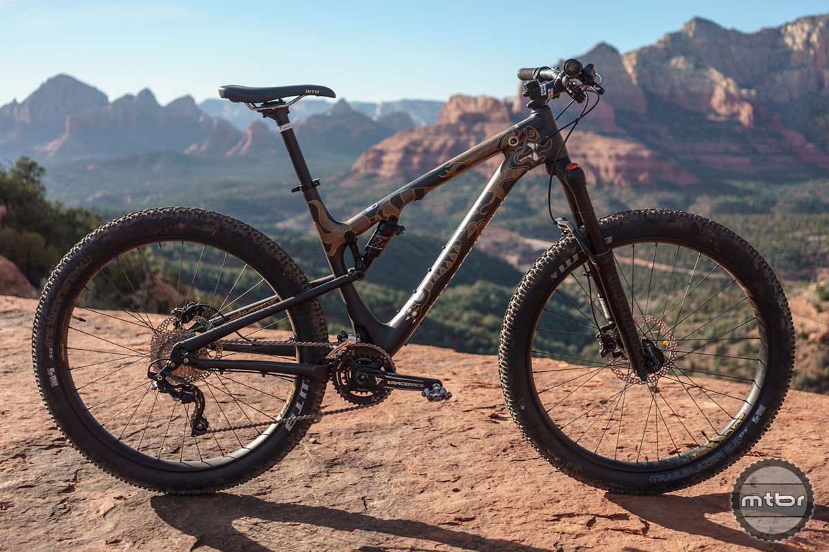 Built to carry gear and rip trail — at the same time.