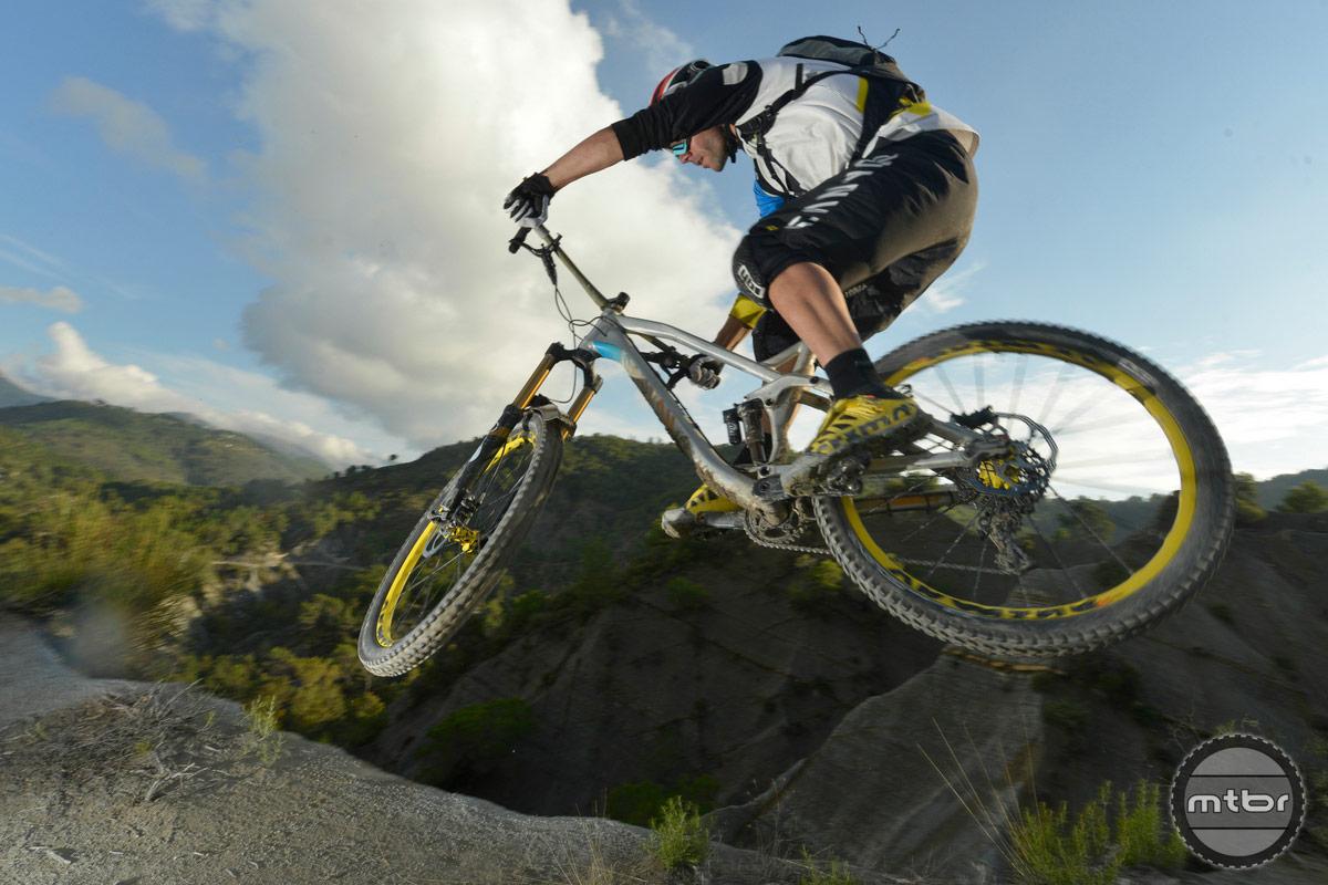 Fabien Barel  jump
