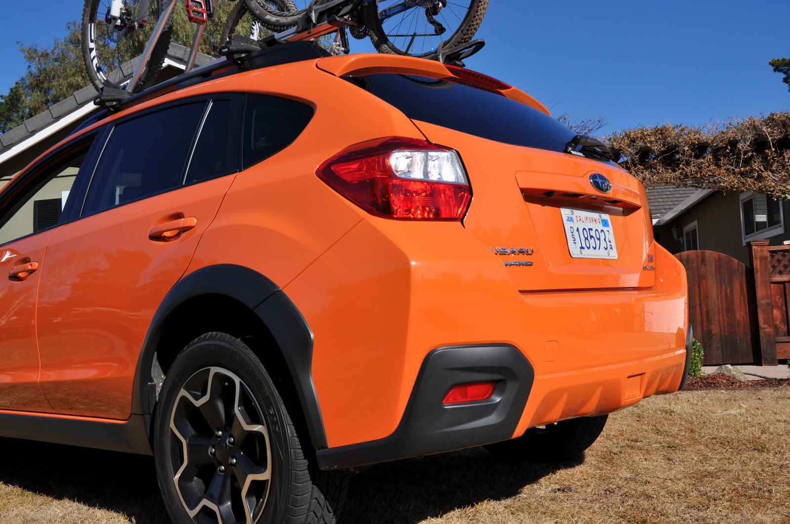 Subaru XV Crosstrek rear bumper