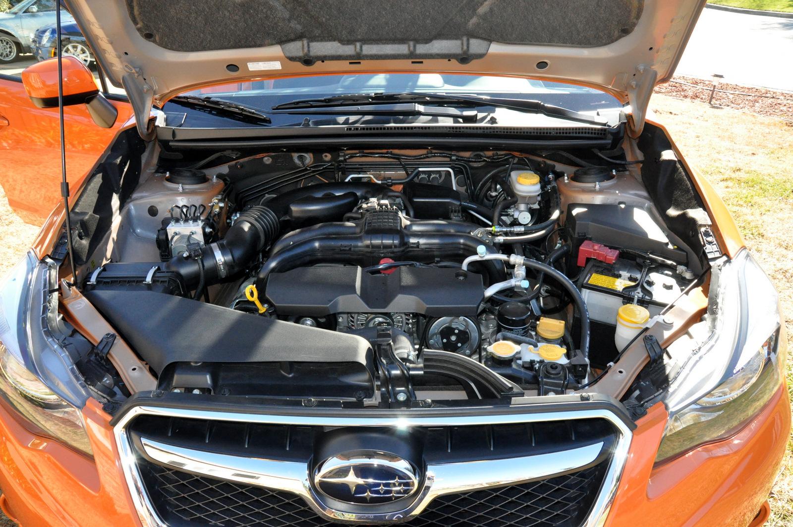 Subaru Xv Crosstrek Engine Front