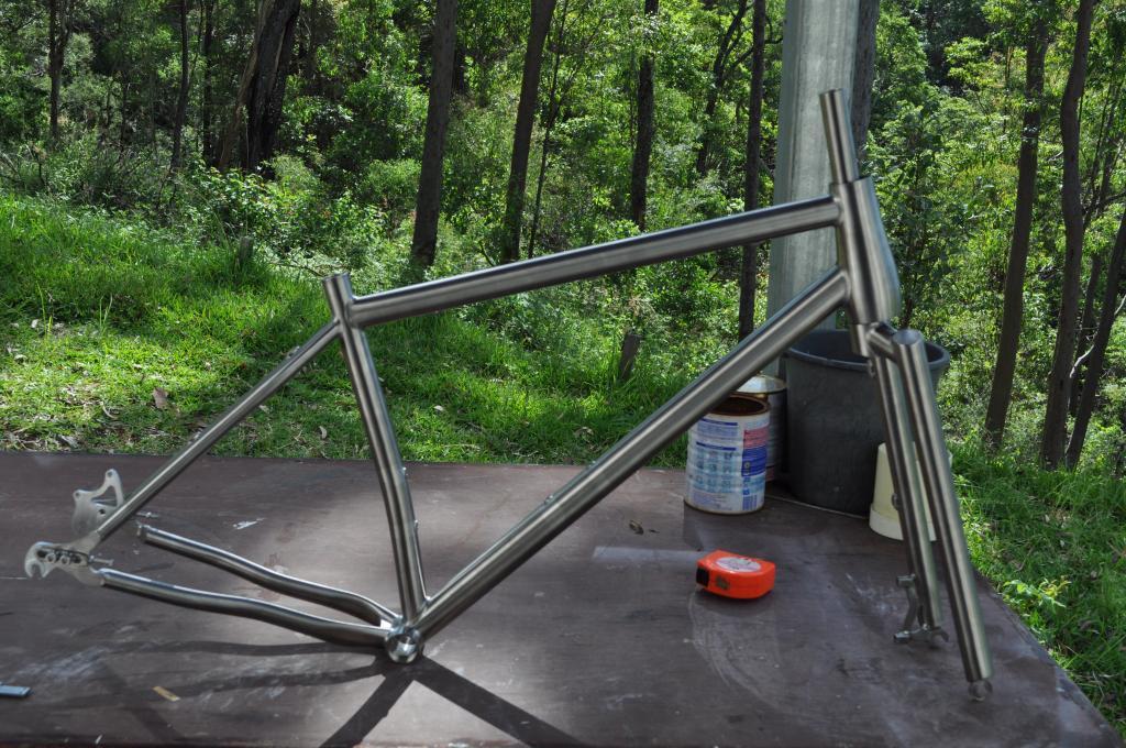 Chinese titanium frames direct- Mtbr.com