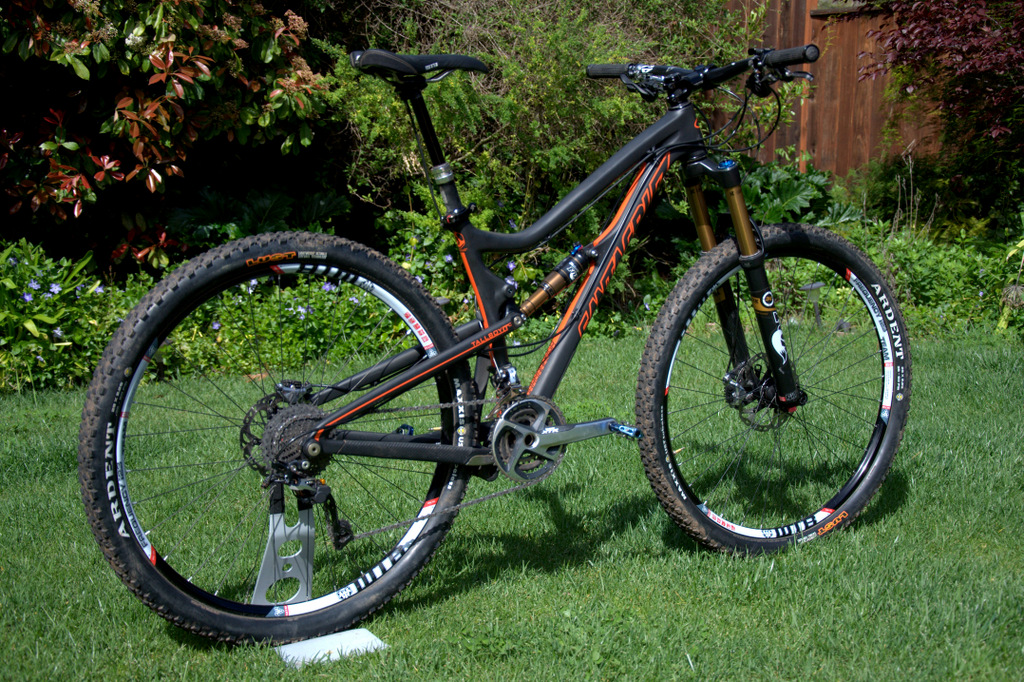 Santa Cruz Tallboy LTc with 140mm of rear travel 29er