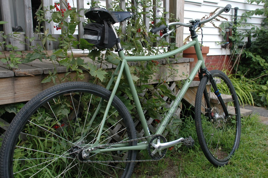 My Wicked Witch Of The West Black Sheep Commuter Bike Mtbr Com
