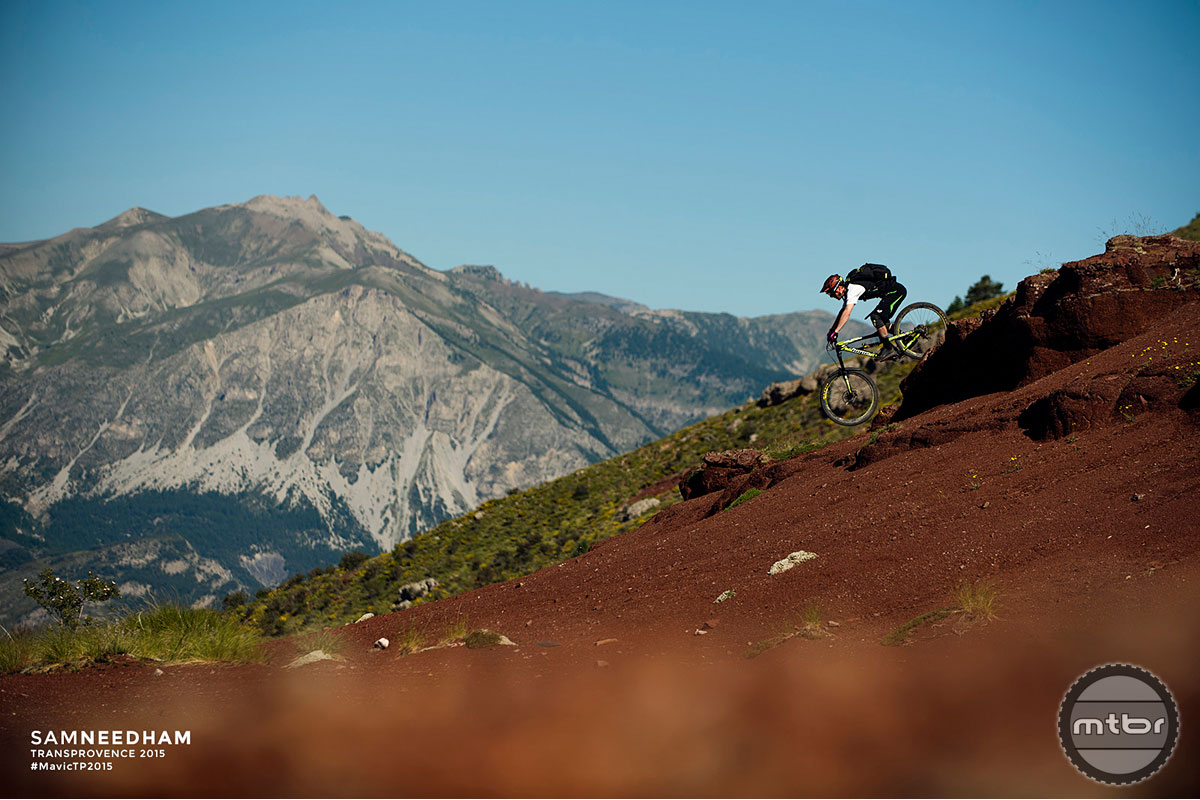 The fourth day of this multi-day enduro was all about tacky red dirt riding.