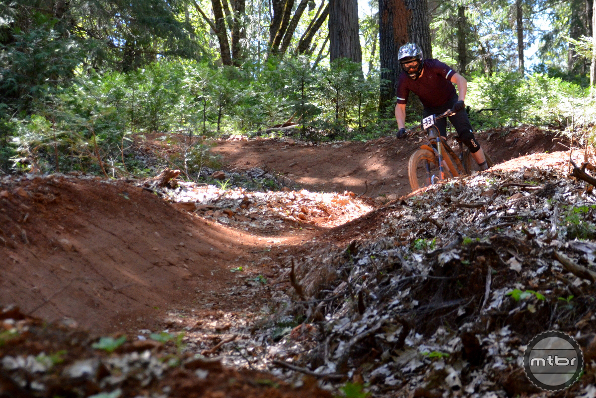 The berms are high and the dirt was perfect this year.