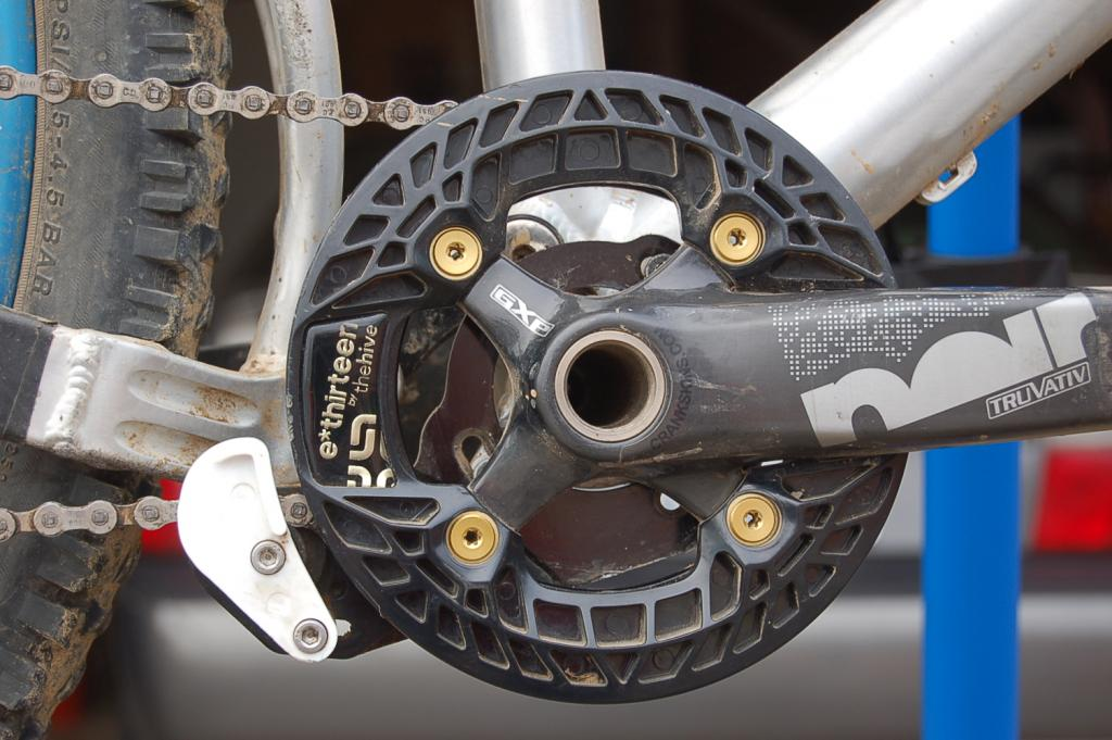 Dual Ring Chain Guides Bash Guards Whose Running What