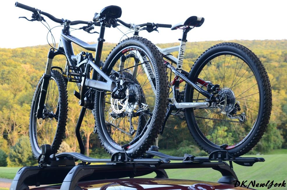 Bmw M5 W Roof Rack And Bike Carrier Mtbr Com