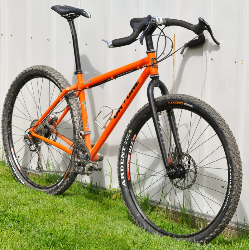 Road Wheels On A Mountain Bike Mtbr Com