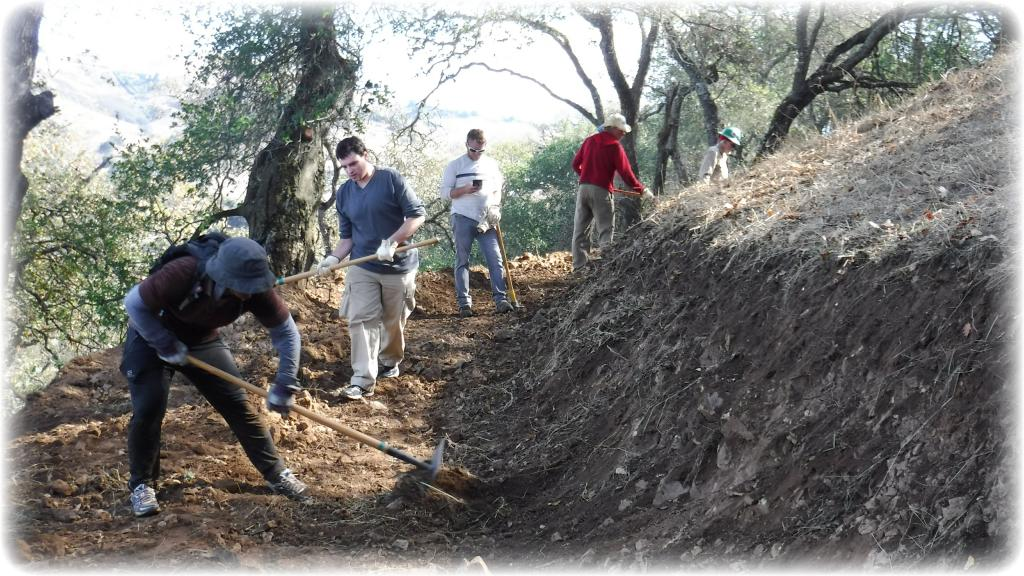 Calero Park trail construction has started!-dscf0511.jpg-2nd-calero-trail-day-10-22-16.jpg
