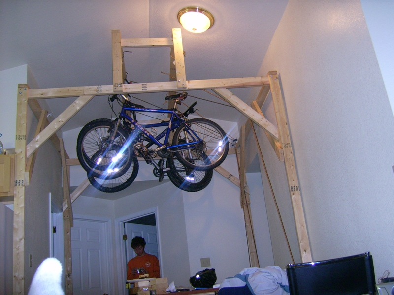 About bike storage and not big apartments?- Mtbr.com